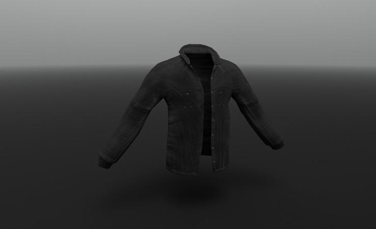denim jacket 3d free