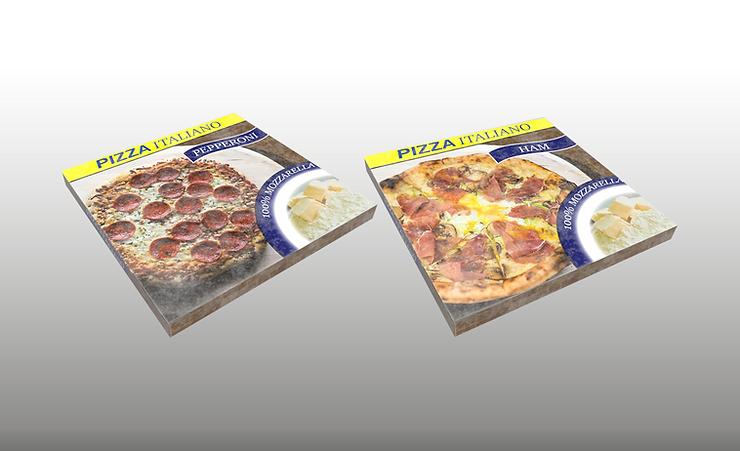 frozen pizza 3d model free