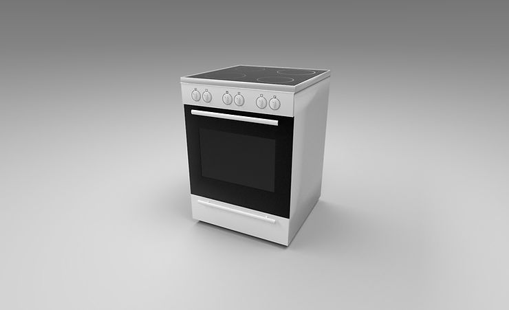 Oven 3d model free download