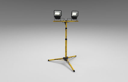 Public domain 3D model of a standing worklight