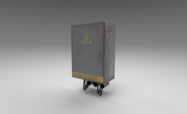 electrical box 3d model free download