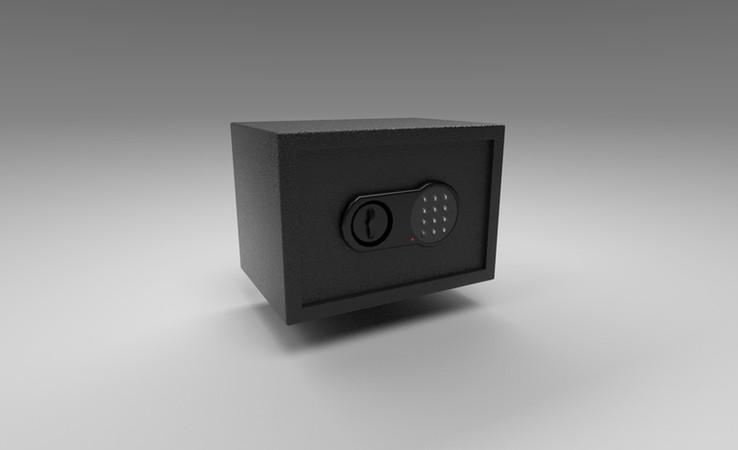 safe 3d model free download