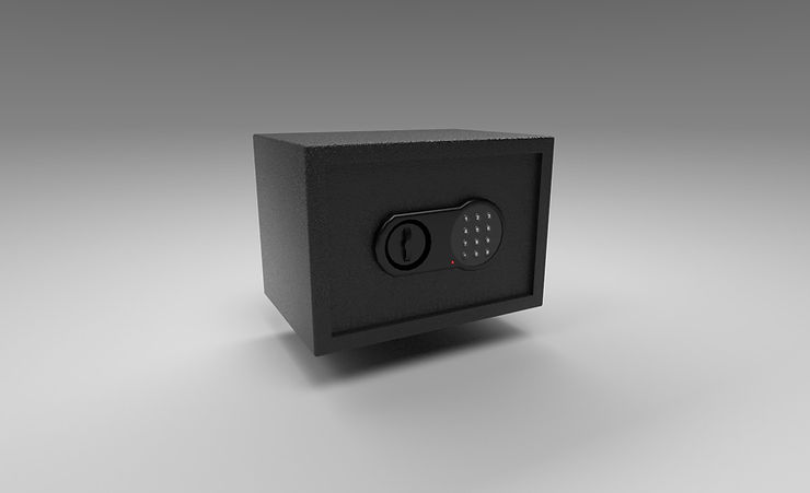 safe 3d model free download
