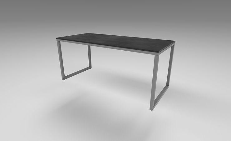 modern desk 3d model free