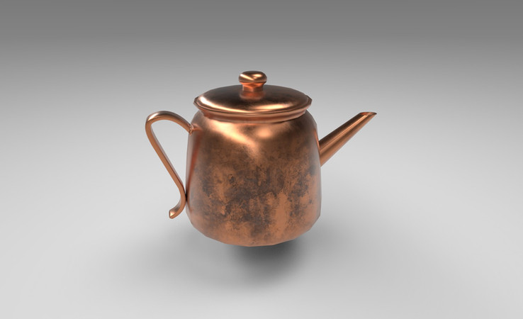 copper kettle 3d model free download