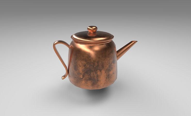 copper kettle 3d model free download