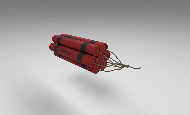 dynamite 3d model free