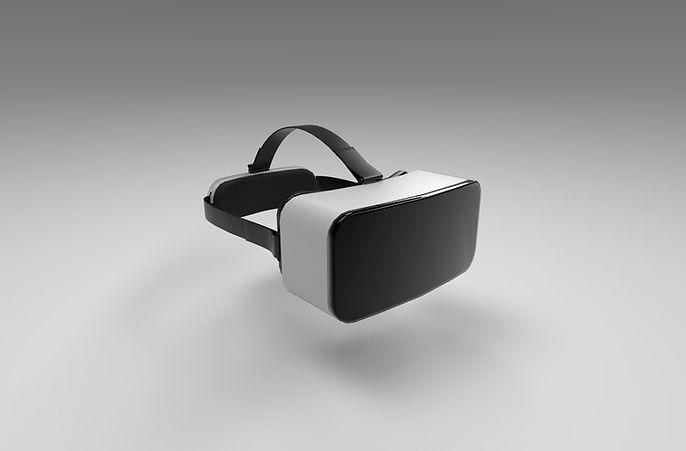 Virtual reality goggles 3d model free download