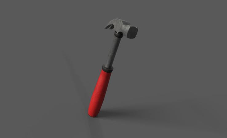 hammer 3d model free download
