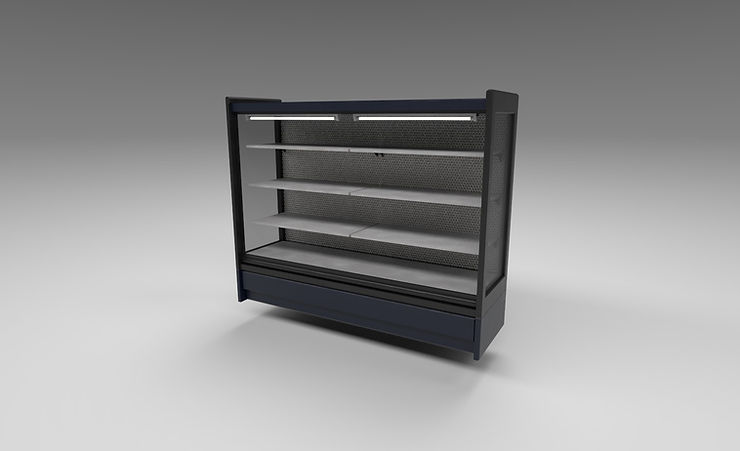store fridge 3d model