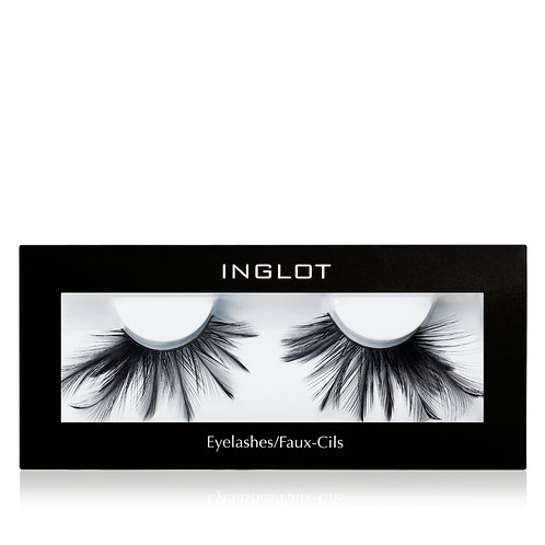 DECORATED FEATHER EYELASHES 26F/ PESTAÑAS DE PLUMAS DECORADAS INGLOT
