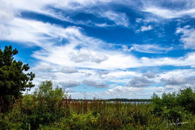 Framing the Blue Sky