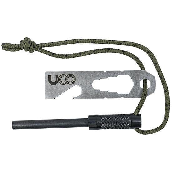 Firesteel UCO + Grattoir Inox multifonction