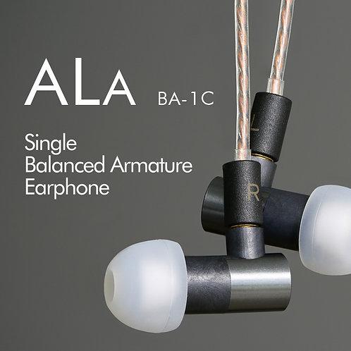 ALA BA-1C Single Balanced Armature Earphone