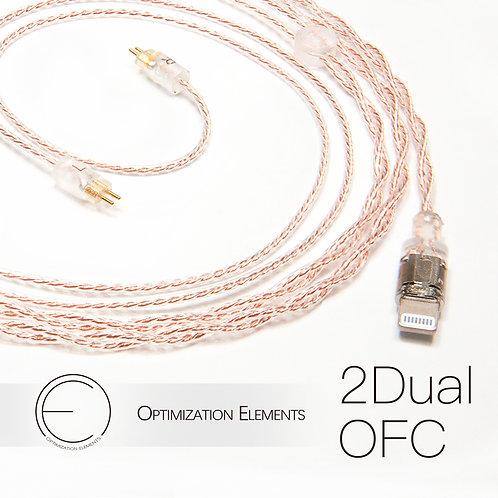 OEAudio 2DualOFC Earphone Cable