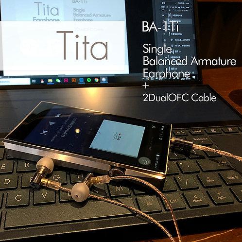 Tita BA-1Ti Single Balanced Armature Earphone