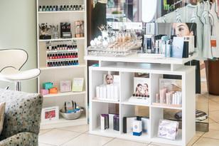 THE makeup counter