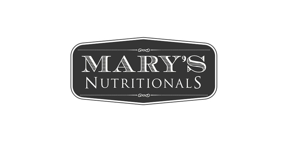 THE wellness speaker series: Mary's Nutritionals