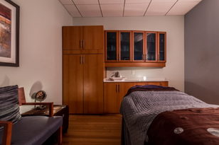 One of our calming treatment rooms