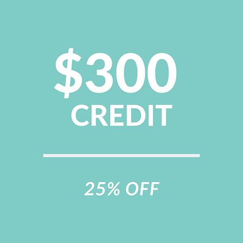 $300 Store Credit