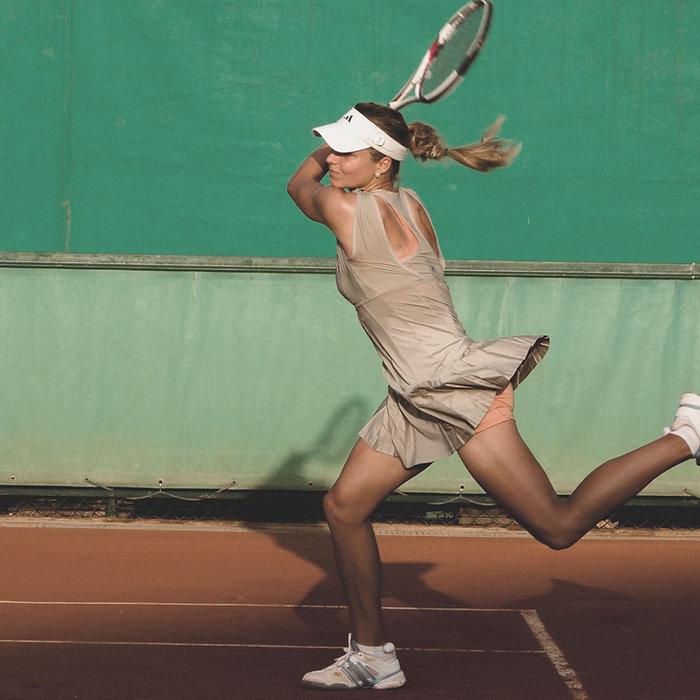 テニス - アクションショット