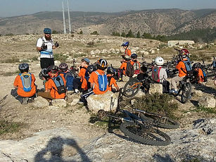 Teaching Leadership skills through mountain biking