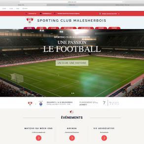Bienvenue sur le nouveau site officiel du Sporting Club Malesherbois Football