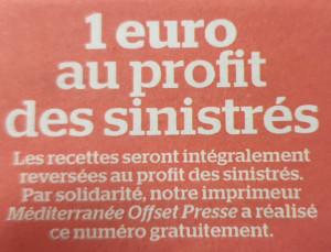 L'imprimerie Méditerranée Offset Presse solidaire avec La Rue d'Aubagne.
