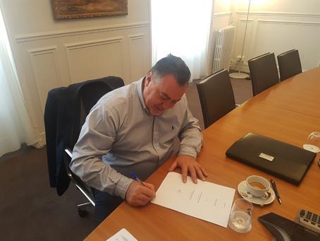 Pierre-Yves BARROSO, nouveau Président de l'imprimerie Méditerranée Offset Presse.