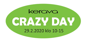 Crazy Day 2020 pvm + klo (ilman taustaa)