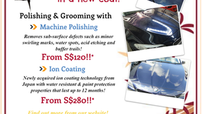 Time to pamper your car during this festive season!