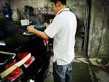 car wax and polishing