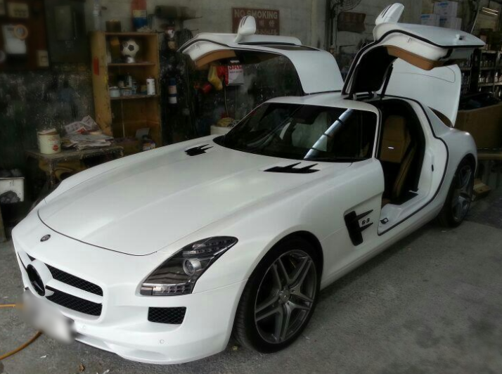 Mercedes-Benz SLC Gullwing AMG