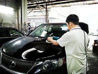 Car waxing and polishing