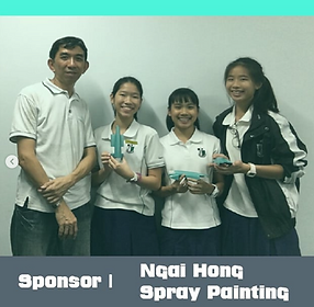 team veliore with Ngai Hong Spray Painting