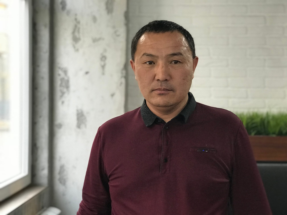 Orynbek Koksebek says he was tortured inside internment camps in Xinjiang