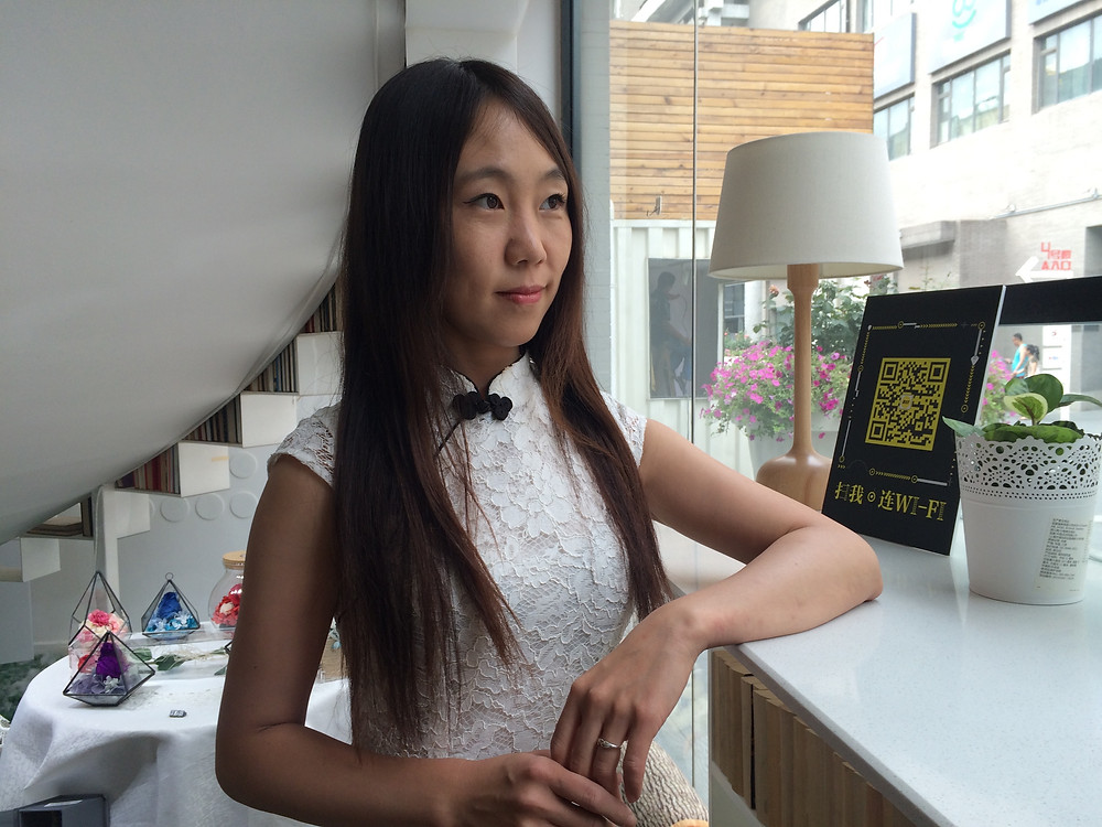Hugo-nominated author Hao Jingfang, who has just published her first non-sci-fi outing, Born in 1984. Photo by Simina Mistreanu