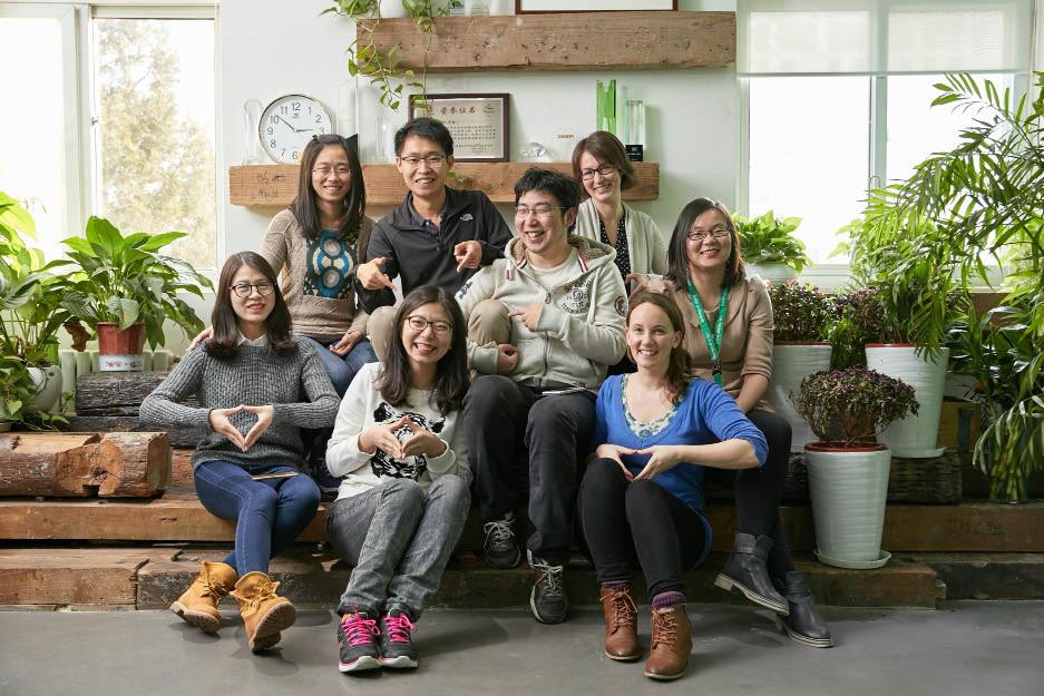 The Greenpeace team in Beijing