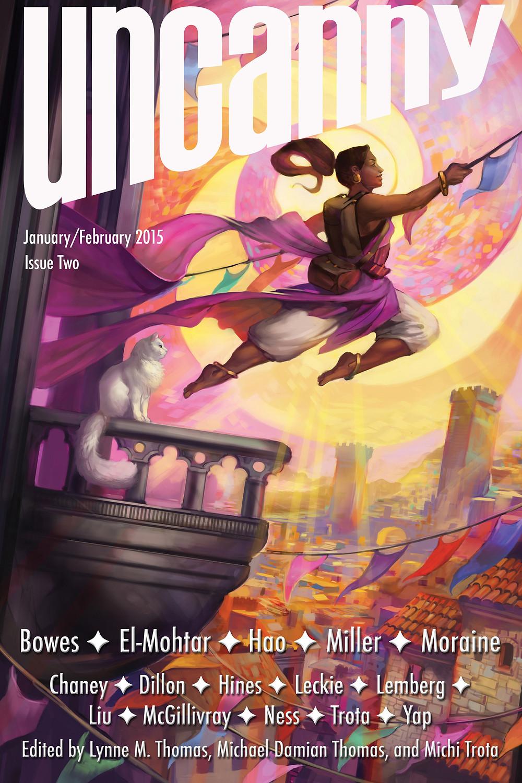Uncanny magazine, which published Folding Beijing.