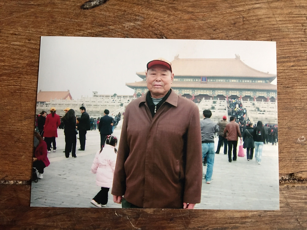 A picture from Xiao Yangyu's travels to Beijing. The retiree has been travelling across the country in recent years, which he says have been the happiest of his life. Photo by Simina Mistreanu/dpa