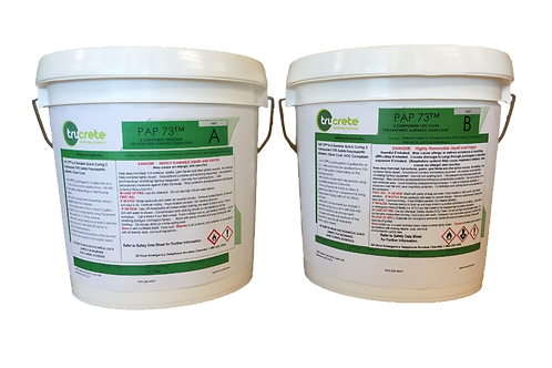 PAP 73™ : VOC Free Polyaspartic Floor Coating: 2 Gallon Kit