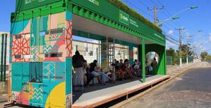 Transport routier: 82 conteneurs bientôt transformés en abribus au Brésil