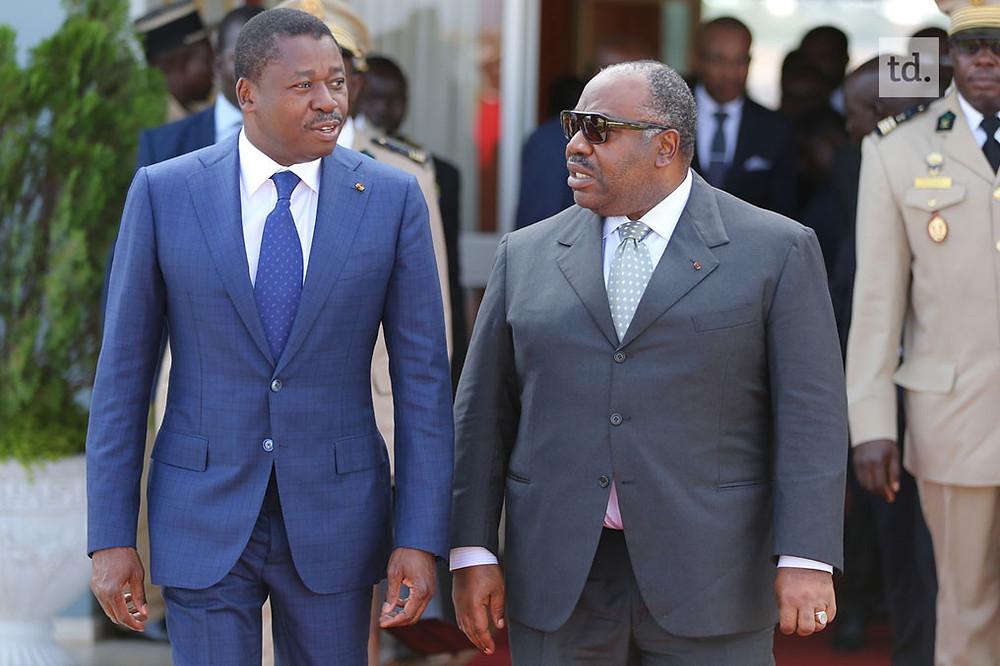 Les présidents togolais Faure GNASSIGBE et gabonais Ali Bongo Ondimba Crédit photo: Togo Diplomatie