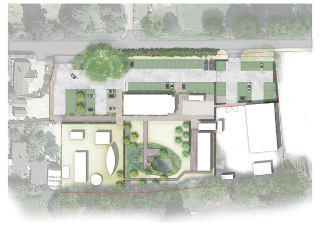 Avalon Marshes Visitor Centre, Proposed Masterplan