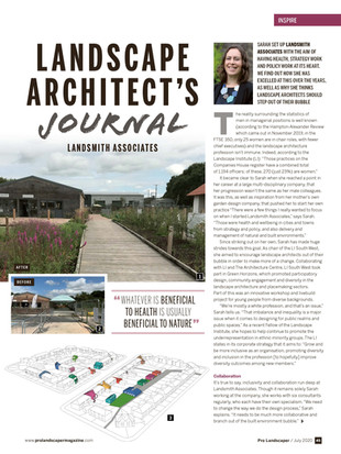 Article in Pro Landscaper Magazine