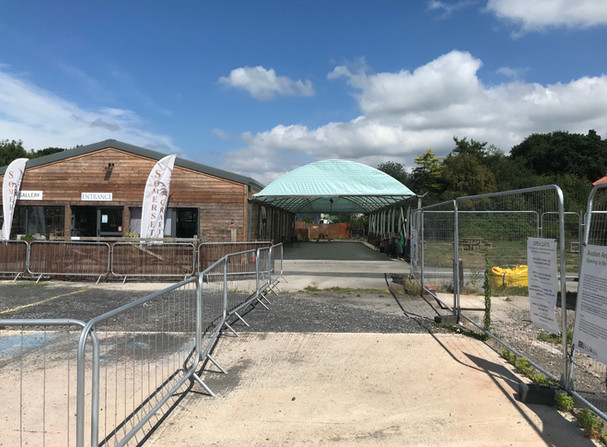 Avalon Centre Visitor Centre - Before