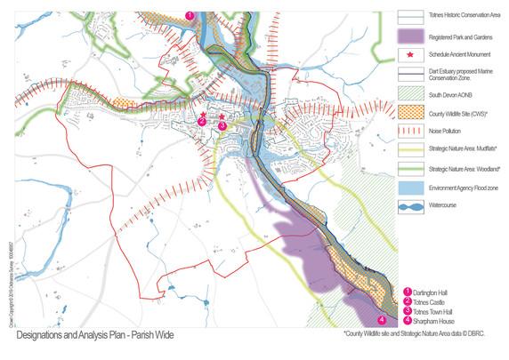 Designations and Feature Parish Wide