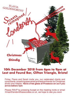 Christmas Shindig 2018 with Flavia Goldsworthy and Streets Reimagined