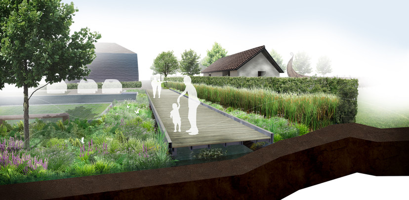 Avalon Marshes Visitor Centre, Proposed Dipping Pond