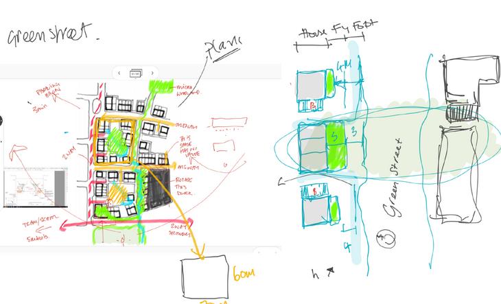 Landsmith Associates_Home of 2030_Sketches